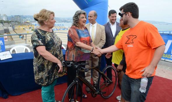Deportistas de cuatro países participarán en Triatlón Internacional Viña del Mar