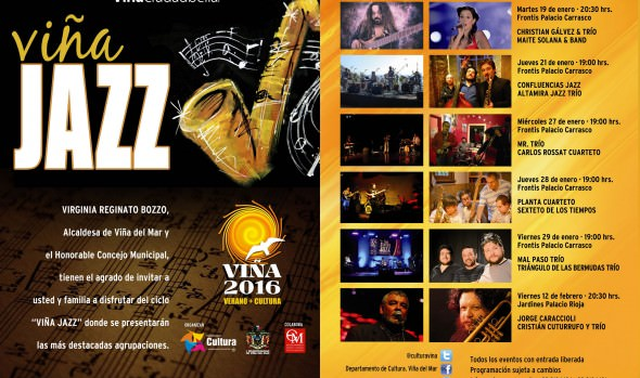 Con gran éxito municipio desarrolló primera jornada de Viña Jazz 2016