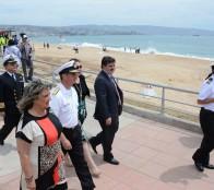 Municipio viñamarino trabaja arduamente en prevención ante próximas marejadas