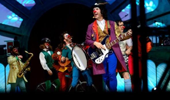 Municipio presenta original banda de rock & clown La Ciscu Margaret