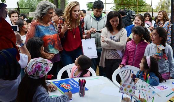 Animadora del Festival disfrutó de un verano entretenido con niños de Viña del Mar