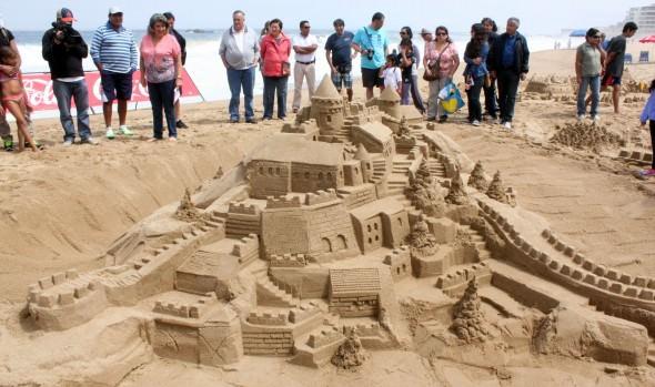 En jornada única, Municipalidad de Viña del Mar desarrollará Concurso de castillos de arena
