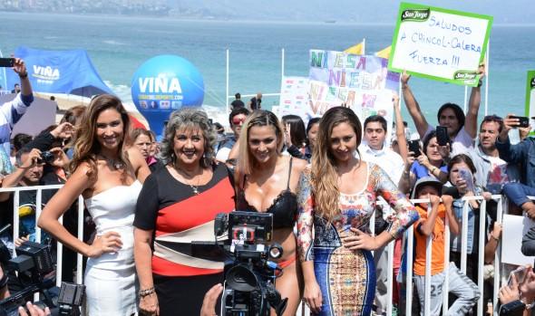 Tres postulantes quieren ser reina del 57° Festival Internacional de la Canción de Viña del Mar