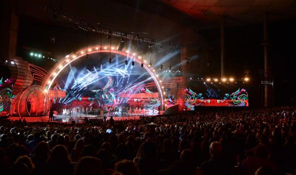 La fiesta de la música comenzó en Viña del Mar 2016