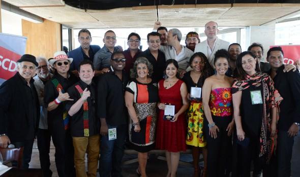 Competidores del Festival Viña 2016 recibieron reconocimientos de la SCD