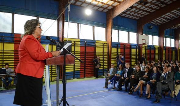 Bienvenida oficial del año escolar 2016 en Viña del Mar encabezó alcaldesa Virginia Reginato