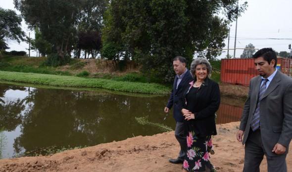 Municipalidad de Viña del Mar comenzó obras de recuperación de tranque Forestal