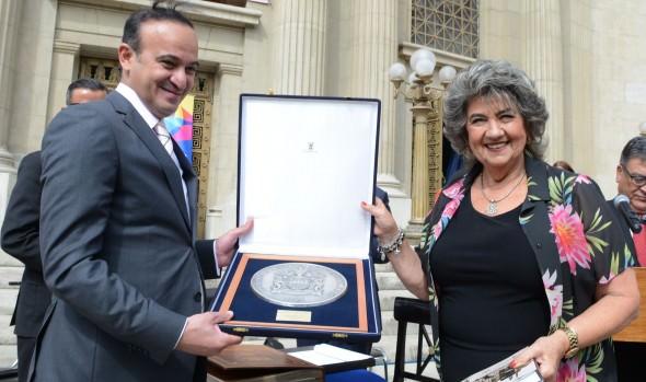 Alcaldesa Virginia Reginato encabezó jornada de clausura de los días culturales de Kuwait