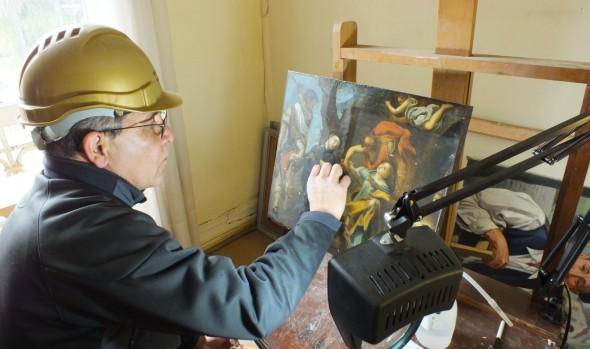 Municipio de Viña del Mar restaurará 3 obras pictóricas de gran formato del museo de Bellas Artes