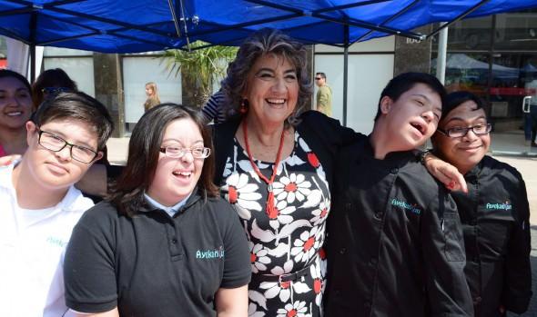 Municicpio de Viña del Mar celebró el Día mundial del Síndrome de Down