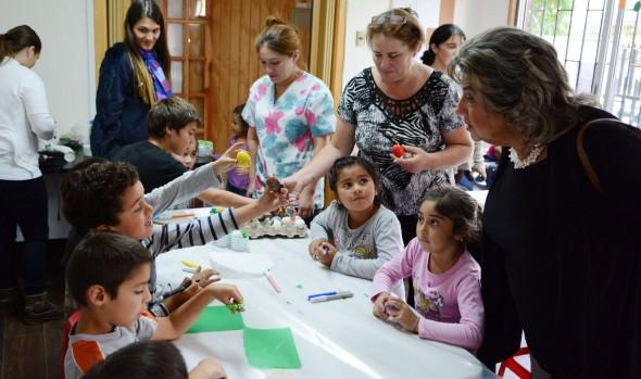 Con muestra de trabajos, Municipio de Viña del Mar  culminó programa de talleres de Pascua de resurrección