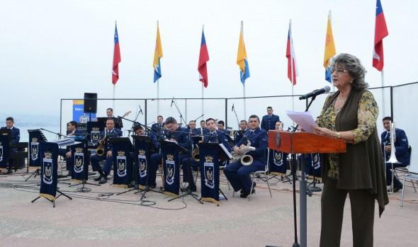 Música de excelencia se apropió del borde costero con presentación de la Big Band de la Fach