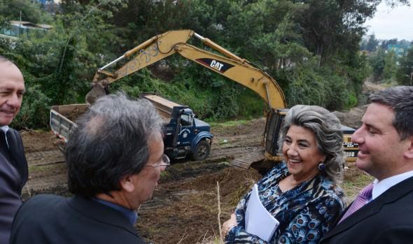 Viña  del Mar invierte $3.000 millones en trabajos de preparación de la ciudad para el invierno informó alcaldesa Virginia Reginato