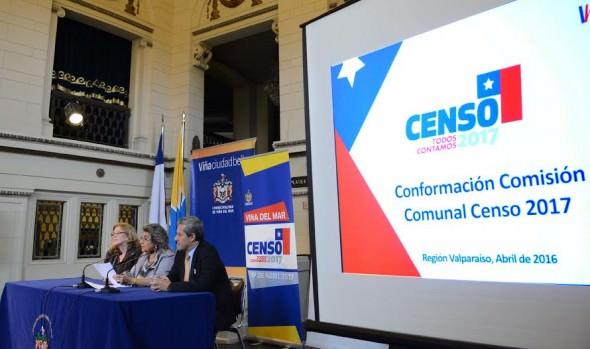Comisión comunal para el Censo 2017 en Viña del Mar es presidida por alcaldesa Virginia Reginato