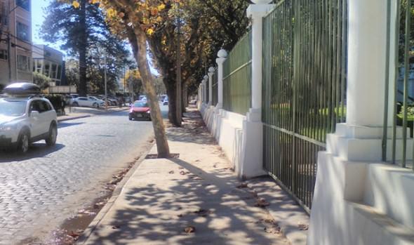 Municipio de Viña del Mar repara aceras en entorno de Palacio Rioja