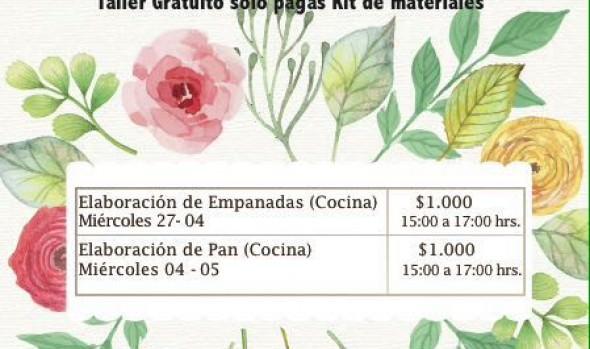 Municipalidad de Viña del Mar invita a participar de talleres Día de la Mamá