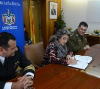Municipio  de Viña del Mar, Armada, Carabineros y PDI renuevan compromiso de seguir trabajando para el desarrollo de actividades en la comuna