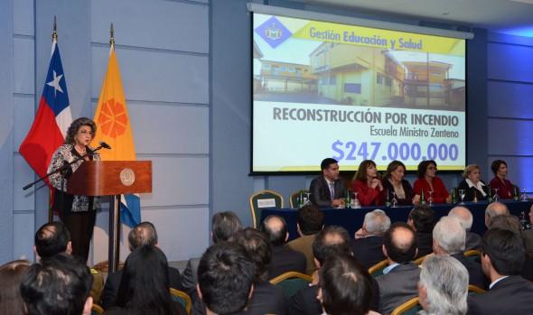 Sello realizador destacó alcaldesa Virginia Reginato al rendir Cuenta Pública municipal de 2015