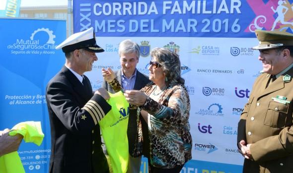 Armada de Chile y Municipalidad de Viña del Mar invitan a participar en Corrida Mes del mar 2016