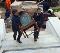 Regresan antiguos muebles del Palacio Rioja para su instalación definitiva en el edificio patrimonial