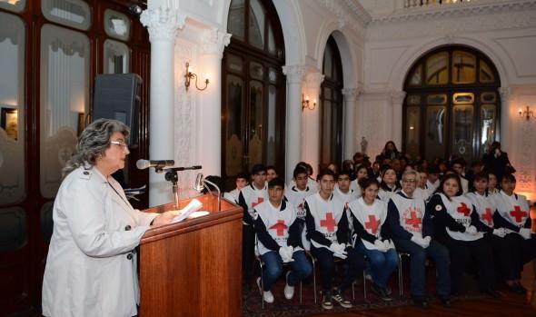 Aniversario 153  de la Cruz Roja y Media luna Roja fue encabezado por alcaldesa Virginia Reginato
