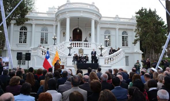 Viña del Mar rescata su patrimonio, reinaugurando alcaldesa Virginia Reginato el Palacio Rioja
