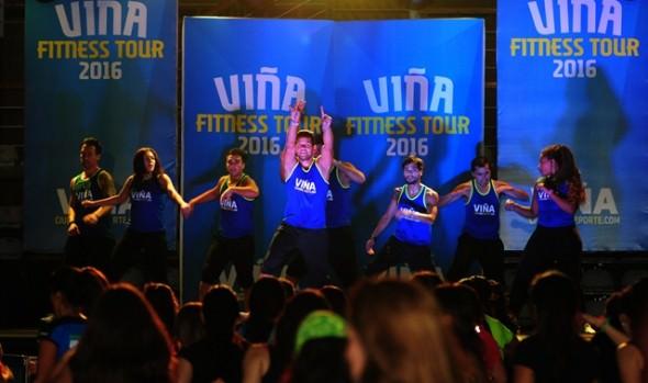 Nuevo programa de actividad física lanzó alcaldesa Virginia Reginato, implementado por la Casa del Deporte