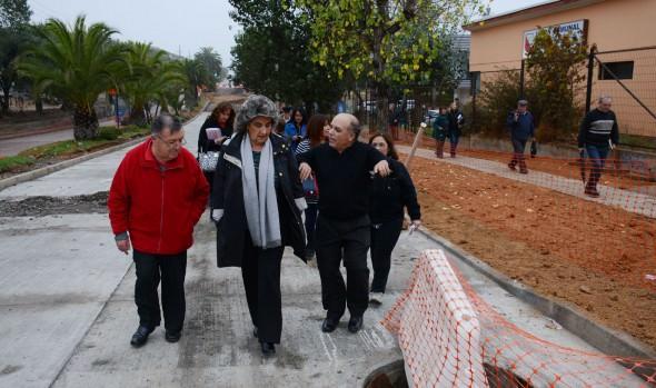 Reapertura de calles pavimentadas en Gómez Carreño ordenó alcaldesa Virginia Reginato