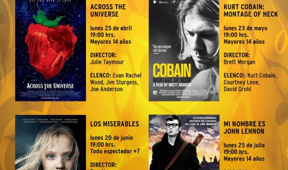 Municipio de Viña del Mar invita a exhibición de documental sobre Kurt Cobain