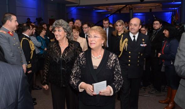 Con la presencia de  Presidenta Michelle Bachelet, Municipalidad de Viña del Mar y Cámara  de Diputados realizaron Gala Musical