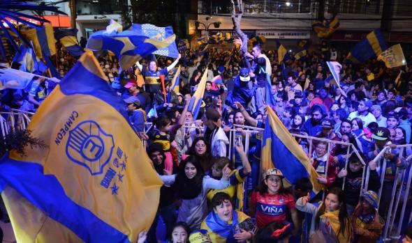 Municipalidad de Viña del Mar   realizó masivo recibimiento a plantel de Everton por su ascenso a Primera A