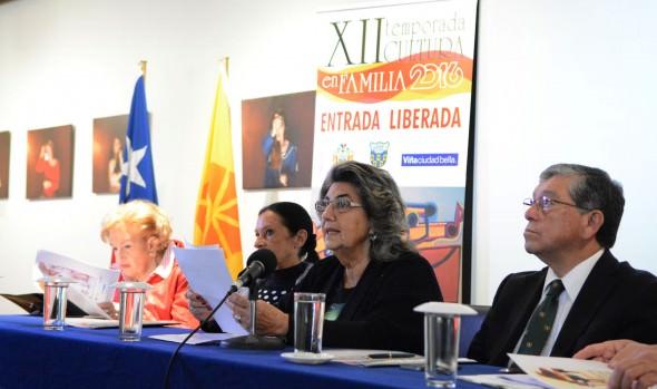 Variada cartelera artística de la Temporada Oficial del Teatro Municipal y Cultura en Familiia presentó alcaldesa Virginia Reginato