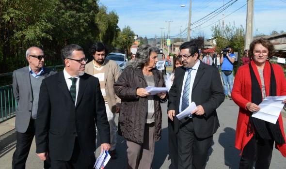 Proceso de instalación del Programa Quiero  Mi Barrio en Reñaca Alto iniciaron alcaldesa Virginia Reginato y Seremi de vivienda