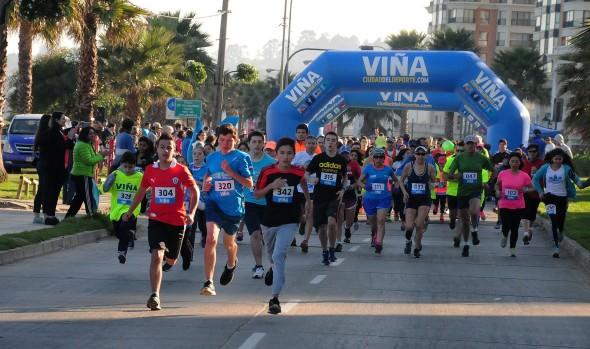 """Municipio de Viña del Mar invita a segunda fecha de las corridas familiares """"Corre por tu salud"""""""