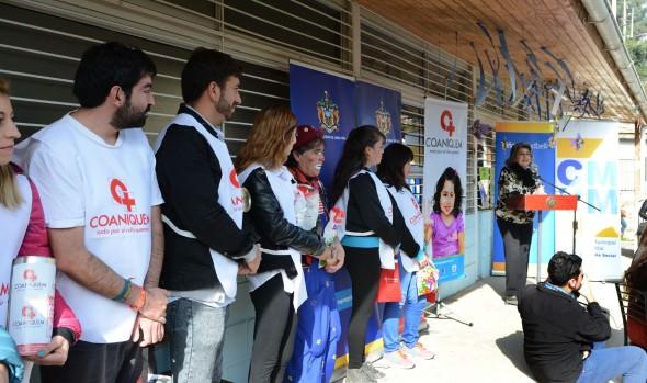 Llamado a colaborar con colecta nacional de Coaniquem realizó alcaldesa Virginia Reginato