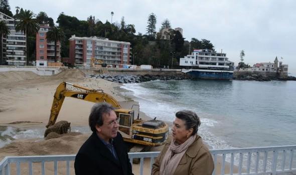 Municipio de Viña del Mar pone énfasis en la prevención ante sistema frontal