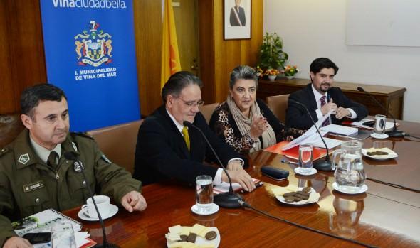 Municipio de Viña del Mar analizará soluciones a problemáticas de seguridad vial  a través de comisión técnica