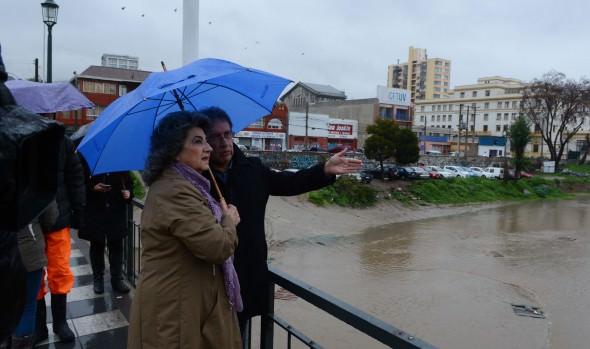 Sin complicaciones, Viña del Mar   resiste sistema frontal informó alcaldesa Virginia Reginato