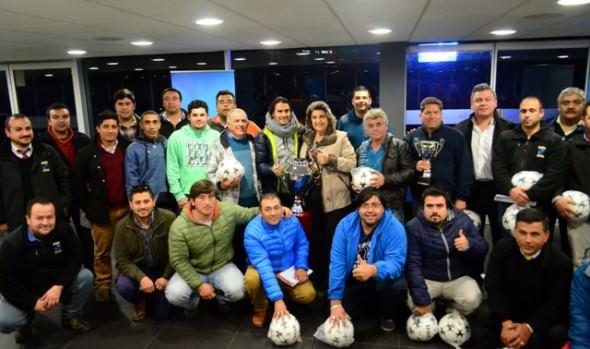 Funcionarios de la Municipalidad de Viña del Mar participarán en campeonato propio de fútbol