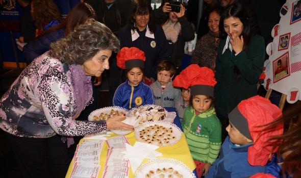 Una interactiva muestra de alimentación saludable realizaron jardines infantiles de Viña del Mar