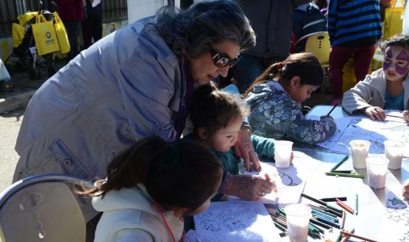 Tras el frio y la lluvia, operativo médico y social de la Municipalidad de Viña del Mar brindo apoyo a vecinos de  Santa Inés