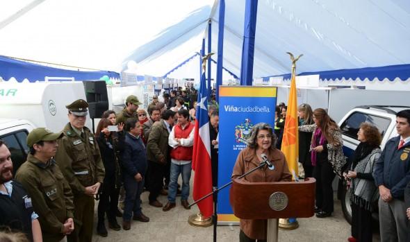 Guerra a la delincuencia declaró alcaldesa Virginia Reginato con programas de Seguridad Ciudadana