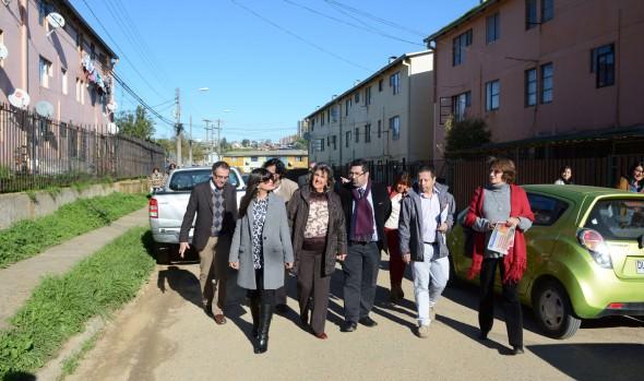 Vecinos de Glorias Navales entregan en comodato terreno para la construcción de jardín infantil