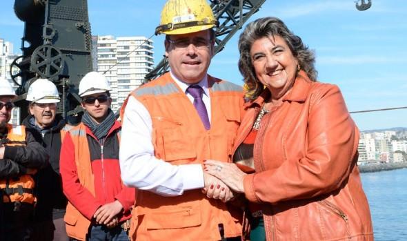 Alcaldesa Virginia Reginato solicita al MOP efectuar trabajos urgentes para restablecer normalidad en subida Mackenna