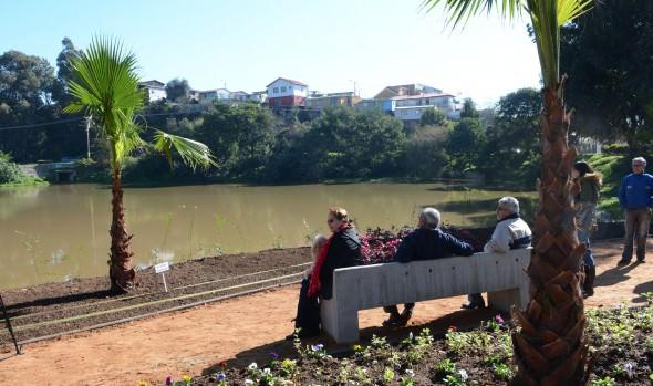 Municipio de Viña del Mar recupera espejo de agua del tranque Forestal