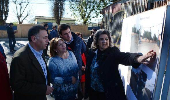 Millonaria inversión en reparación y construcción de aceras ejecuta municipio de Viña del Mar