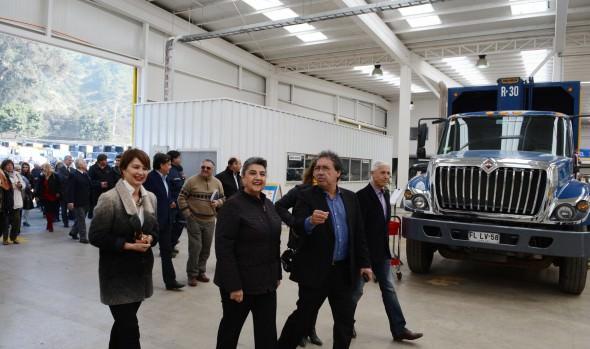 Nueva Maestranza municipal  inauguró alcaldesa Virginia Reginato, la que traerá beneficios a los habitantes de Viña del Mar