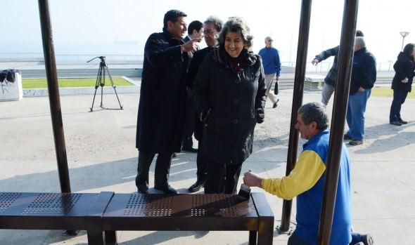 Municipio de Viña del Mar mejora más de 200 refugios peatonales