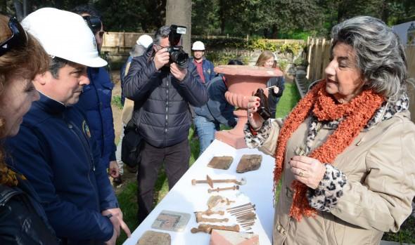 Encuentran vestigios  de la residencia original del fundador de Viña del Mar informó alcaldesa Virginia Reginato