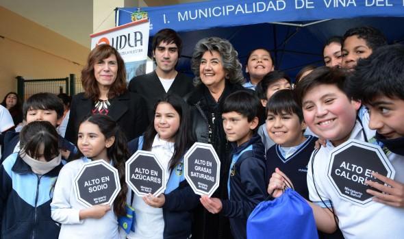 Municipalidad de Viña del Mar promueve los beneficios de la alimentación saludable